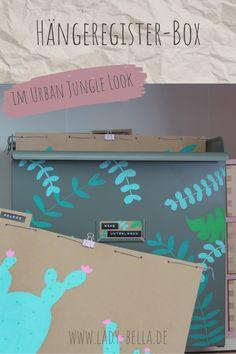 DIY-Bastelanleitung im Urban Jungle Look mit den Kreativmarkern von PILOT PEN zum Nachmachen. Hübsche Methode für ein aufgeräumtes Büro und Arbeitszimmer. Schluss mit unübersichtlicher Ablage. #diy #pilotpen #basteln #ordnung #aufräumen Diy Projects To Try, Design Projects, Marker, Origami, Art And Craft, Art Diy, Diy Inspiration, Types Of Houses, Diy Design