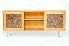 Modern Bamboo TV Stand. $1,650.00, via Etsy.