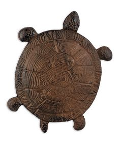 Loving this Cast Iron Turtle Stepping Stone on #zulily! #zulilyfinds