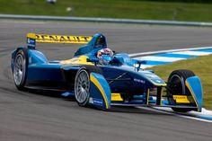 First Formula E Test Sees Sebatien Buemi Top the Charts