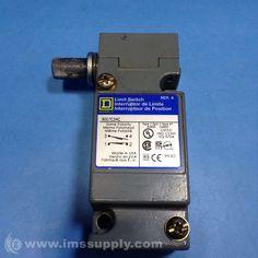 SQUARE D 9007C54C LIMIT SWITCH 600V 10AMP C OPTIONS