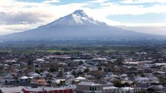 """Scientists have built up a completely new understanding of Mt Taranaki's eruption risk. The stratovolcano is considered to be in a """"quiet period"""" - its last eruption occurred in 1790. Based on an analysis of nearly 230 eruptions over the last 30,000 years, researchers have put the probability of a new eruption at between one and 1.3 per cent each year. While the probability is low, the risk is significant: more than 85,000 people live within 30km of the mountain... Sinabung Volcano, Places Around The World, Around The Worlds, Pyroclastic Flow, Erupting Volcano, Herald News, The Next, Auckland"""