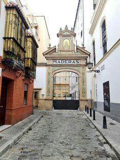 Calle Antonio Susillo, Sevilla.