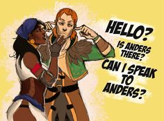 Hello?? Is Anders there? by xLacie on DeviantArt