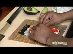 Sushi - How to Make a Tiger Roll  http://www.sushi-selber-machen.org/