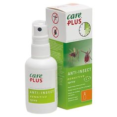 Deet free mosquito repellent from Care Plus, great for sensitive skin! Buy insect repellents & bite relief in our online travel store. Bite Relief, Insect Repellent Spray, Travel Store, Ticks, Spray Bottle, Sensitive Skin, Insects, Solar, Fragrance