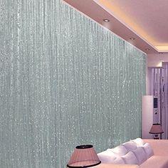 Kisstaker Glitter Tassel String Line Door Window Curtain Room Divider Screen Decor Home Textiles Treatments