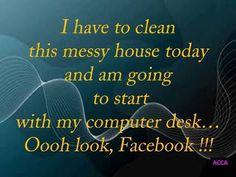 I have to clean this messy house - Funny Pictures & Funny jokes