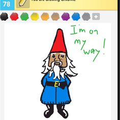 """""""Gnome"""" with Travelocity as inspiration."""