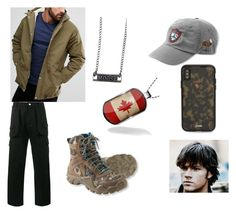 """~moose~"" by sensitive-satan on Polyvore featuring Hot Topic, L.L.Bean, Fat Moose, White Mountaineering, Sonix, men's fashion and menswear"