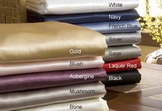 Scent-Sation Charmeuse II Satin Full Sheet Set from Avarietyofgifts.com