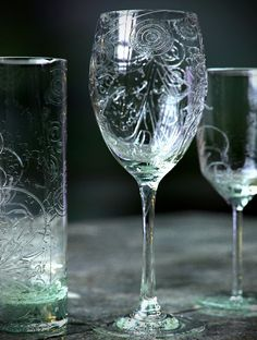 CGI 'photos' - We love how the light plays off these glasses.