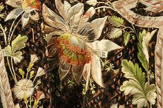 Detail of Embroidery on Frockcoat of Court Suit, 1774-93, French, silk