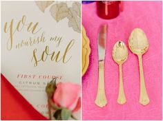 Pink and Red Spring Wedding Ideas The Bride Link