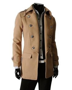 Very nice captains trench coat