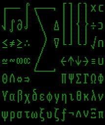 VT100.net: DEC Technical Character Set