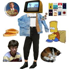 Loser by walnut-child on Polyvore featuring Urban Renewal