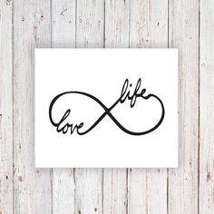 Temporary tattoo infinity symbol 'Love Life' - a temporary tattoo by Tattoorary Believe Wrist Tattoo, Love Life Tattoo, Love Wrist Tattoo, Infinity Tattoo On Wrist, Infinity Tattoos, Tattoo Small, Initial Wrist Tattoos, Meaningful Wrist Tattoos, Word Tattoos