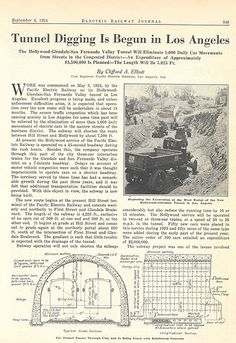 PE Subway Article from Electric Railway Journal, September 6, 1924
