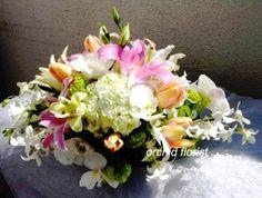 San Francisco's Orchid Florist - Cool Summer Night arrangement - LOVE!