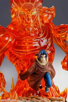 Figura de resina de Itachi Uchiha con su Susanoo por Tsume