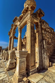 Temple of Hadrian, Rome, Italy *