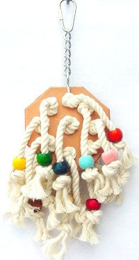 Cotton Patch  Bird Toys for Pet Parrots by A Bird Toy by abirdtoy, $7.25
