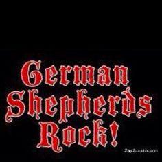 German Shepherds Rock!!sooooo true