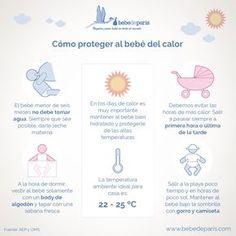 Con la llegada del calor, es muy importante proteger bien a tu bebé, sabes cómo…