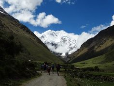 The trail starts in Mollepata, a couple of hours away from Cusco and ends in�