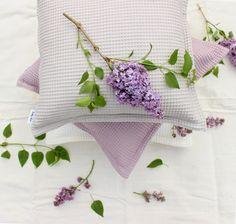 Powder cotton pillow,Boho style,Boho living,Pastel colors on pillow