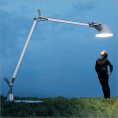 artemide tolomeo XXL floor lamp, indoor/outdoor