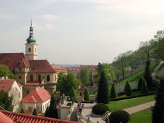 Church of Our Lady of Victory and Vrtbovska Garden, Prague