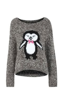 @Heather Creswell Sessions PENGUIN SWEATER!!!