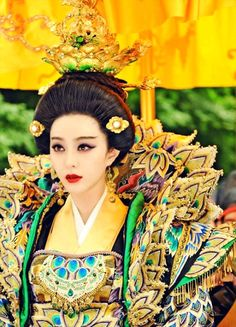 Fan Bingbing in 'The Empress of China' Sophie Okonedo, Joan Chen, Kim Min Hee, The Empress Of China, The Painted Veil, The Hollow Crown, Nathalie Emmanuel, Fan Bingbing, Twelfth Night