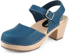 Torpatoffein Leather Covered Sandal