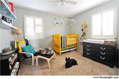 Cute baby room by Lissa Anglin