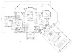 Allegheny Main Floor Plan