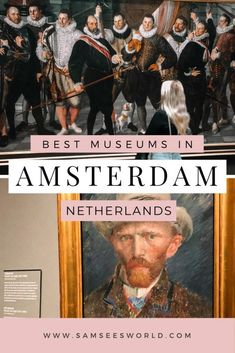 The best museums in Amsterdam. One of the best things to do in Amsterdam is visit the museums. Here are the top contenders. #Museums #Amsterdam #Netherlands