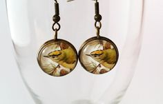 Postage stamp bird earrings antique style by Vintagestylecrafts on Etsy Bird Earrings, Antique Earrings, Handmade Crafts, Postage Stamps, Washer Necklace, Antiques, Etsy, Jewelry, Style