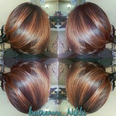 Love the color and cut and it looks SO healthy! Wish mine looked like this.