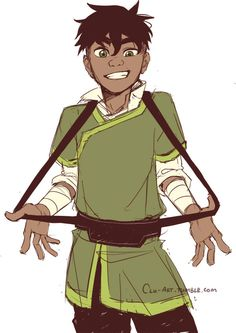 cluclu-art:  I just watched LoK and I'd say, Kai piquedmy interest :)