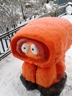 Muñeco de nieve de Kenny.