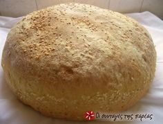 Bread Bun, Bread Cake, Yummy Food, Tasty, Cooking Recipes, Healthy Recipes, Bread And Pastries, Dinner Rolls, Greek Recipes