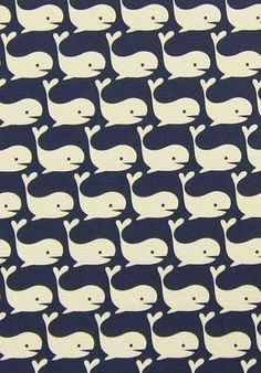 Whale whale whale, what do we have here? I love this pattern for summer!