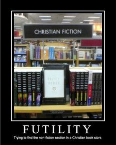 Futility - there is NO non fiction section