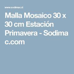 Malla Mosaico 30 x 30 cm Estación Primavera-Sodimac.com