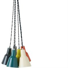 Multi-coloured pendant light from M & S