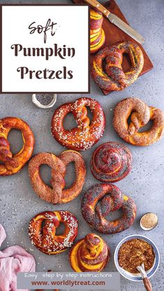This homemade Soft pumpkin Pretzels are tasty snack ideas that are perfect for game day. They are delicious, quick and easy, and flavorful. It's the perfect fall pumpkin recipe to try!