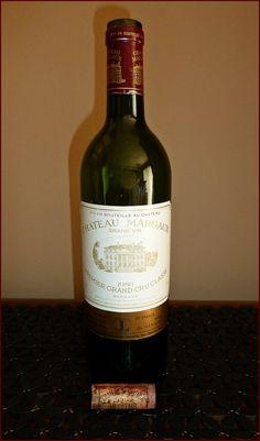 1986 Château #Margaux Premier #GrandCru Classé is one of my favorite #Bordeaux Wines with a memorable Crème de Cassis finish. #CremedeCassis
